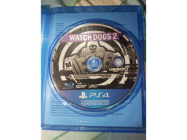 VENDO WATCH DOGS 2 PARA PS4 - 2