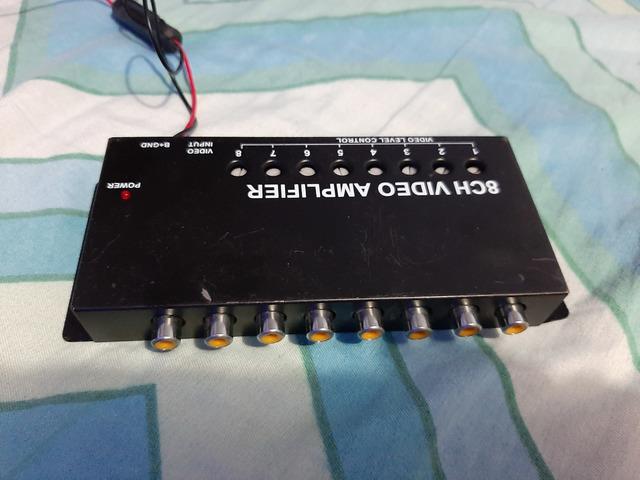 Vendo amplificador de video de 8 canales - 1