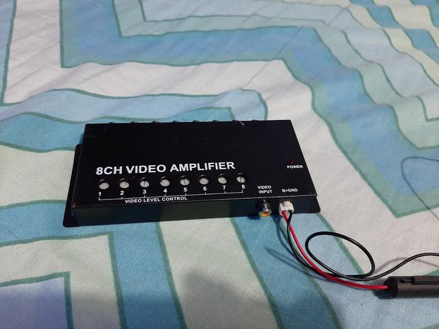 Vendo amplificador de video de 8 canales - 2