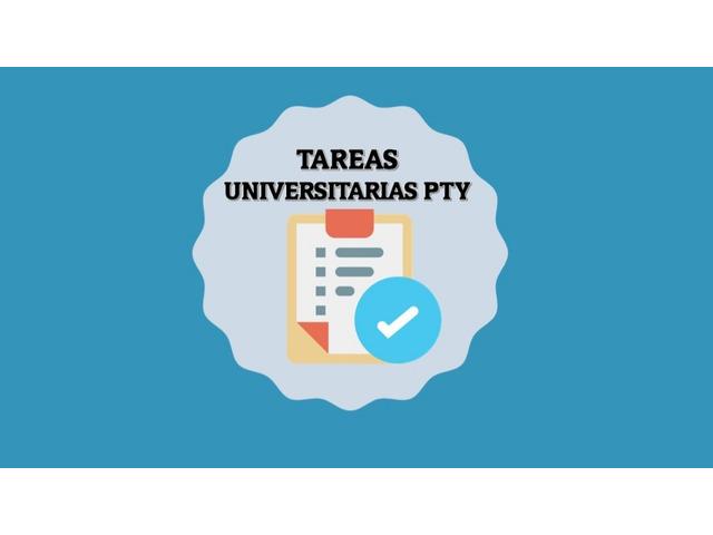 Tareas Universitarias Pty - 1
