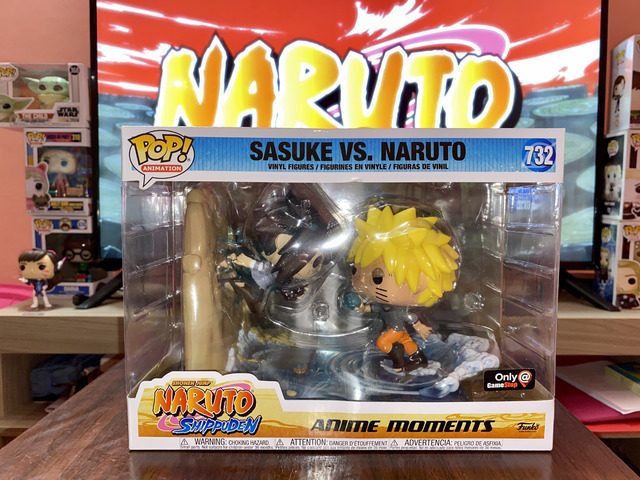 Funko Pop! Sasuke vs Naruto exclusivo de Game Stop, sin abrir. 65$ - 1