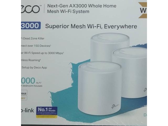 Router DECO Next-Gen AX3000 MESH WIFI SYSTEM - 1